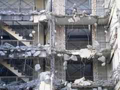シロアリによる建物被害の画像